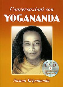 Listadelpopolo.it Conversazioni con Yogananda. Con DVD Image