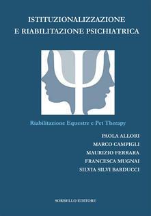 Lpgcsostenible.es Istituzionalizzazione e riabilitazione psichiatrica. Riabilitazione equestre e pet therapy Image