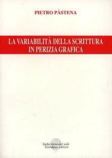 Librisulladiversita.it La variabilità della scrittura in perizia grafica Image