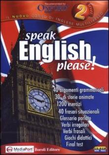 Scacciamoli.it Speak English, please! Level 2. CD-ROM Image
