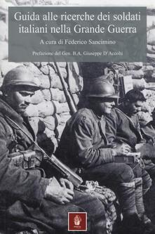 Daddyswing.es Guida alle ricerche dei soldati italiani nella grande guerra Image
