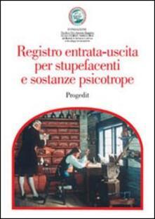Amatigota.it Registro entrata-uscita per stupefacenti e sostanze psicotrope Image