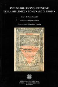 Incunaboli e cinquecentine della Biblioteca comunale di Troina
