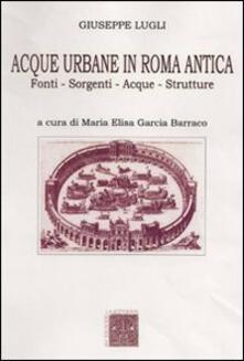 Squillogame.it Acque urbane in Roma antica. Fonti, sorgenti e strutture Image