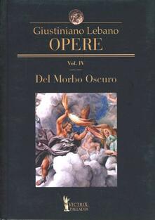 Fondazionesergioperlamusica.it Opere. Vol. 4: Del morbo oscuro Image