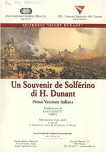 Un souvenir de Solferino. Ediz. italiana