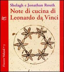 Filippodegasperi.it Note di cucina di Leonardo da Vinci Image