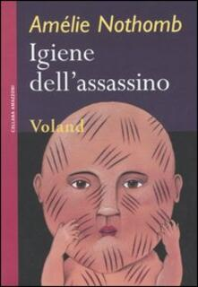 Igiene dell'assassino - Amélie Nothomb - copertina