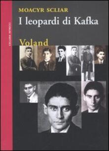 I leopardi di Kafka - Moacyr Scliar - copertina