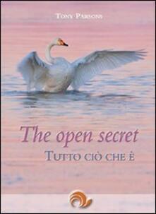 The open secret. Tutto ciò che è - Tony Parsons - copertina