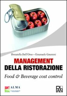 Winniearcher.com Management della ristorazione. Food & beverage cost control Image