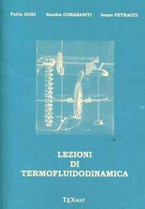 Lezioni di termofluidodinamica