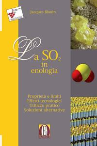 La SO2 in enologia. Proprietà e limiti. Effetti tecnologici. Utilizzo pratico. Soluzioni alternative