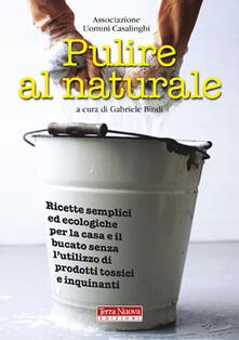 Nicocaradonna.it Pulire al naturale. Ricette semplici ed ecologiche per la casa e il bucato senza l'utilizzo di prodotti tossici e inquinanti Image
