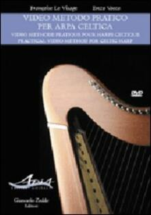 Aboutschuster.de Video metodo pratico per arpa celtica-Video methode pratique pour harpe celtic-Practical video method for celtic harp. DVD. Con libro Image