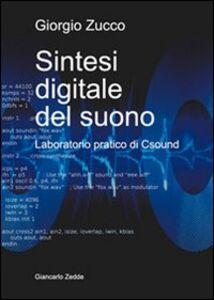 Foto Cover di Sintesi digitale del suono. Laboratorio pratico di Csound, Libro di Giorgio Zucco, edito da Giancarlo Zedde Editore