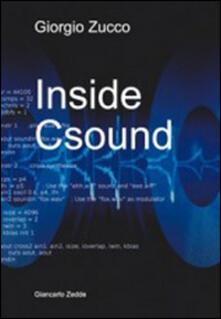 Inside csound - Giorgio Zucco - copertina