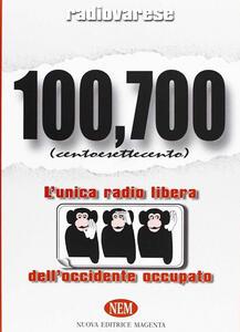 Radio Varese. 100,700. L'unica radio libera dell'Occidente occupato