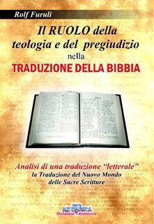 Antondemarirreguera.es Il ruolo della teologia e del pregiudizio nella traduzione della Bibbia Image