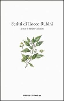 Scritti di Rocco Rubini - copertina