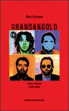 Grandangolo. Poesie e canzoni (1988-2004) - Nicola Catenaro - copertina