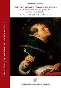Contemplazione e conoscenza mistica. La dottrina di Tommaso d'Aquino nella «Summa contra Gentiles»