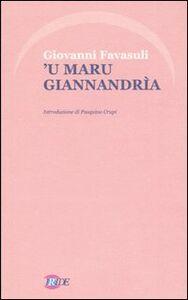 Maru Giannandrìa ('u)