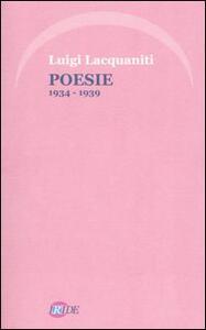 Poesie 1934-1939