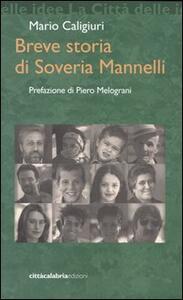 Libro Breve storia di Soveria Mannelli Mario Caligiuri