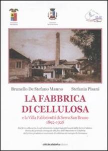 La fabbrica di cellulosa e la Villa Fabbricotti di Serra San Bruno (1892-1928