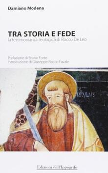 Ristorantezintonio.it Tra storia e fede. La testimonianza teologica di Rocco De Leo Image