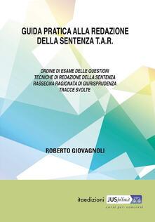 Guida pratica alla redazione della sentenza TAR.pdf
