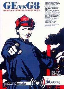 Ge vs G8. Genova a fumetti contro il G8 - copertina