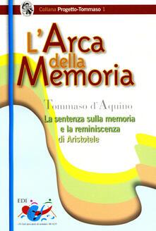 Voluntariadobaleares2014.es L' arca della memoria. La sentenza sulla memoria e la riminiscenza di Aristotele Image