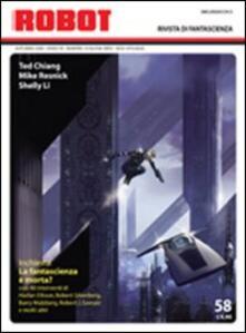 Cefalufilmfestival.it Robot. Rivista di fantascienza (2009). Vol. 58 Image