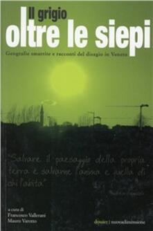Il grigio oltre le siepi. Geografie smarrite e racconti del disagio in Veneto - copertina