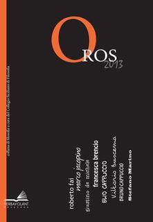 Premioquesti.it Oros 2013 filosofia e critica delle idee Image