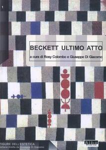 Samuel Beckett. Ultimo atto - copertina