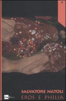 Eros e Philia - Salvatore Natoli - copertina