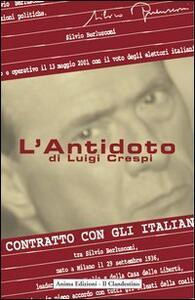L' antidoto - Luigi Crespi - copertina
