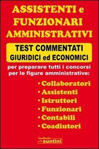 Assistenti e funzionari amministrativi