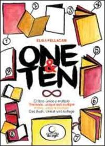 One&ten. Il libro, unico e multiplo. Con DVD. Ediz. italiana, inglese, tedesca e spagnola