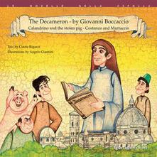 Winniearcher.com The Decameron by Giovanni Boccaccio: Calandrio and the stolen pork-Costanza and Martuccio Image