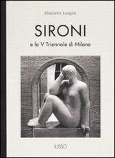 Libro Sironi e la V Triennale di Milano Elisabetta Longari