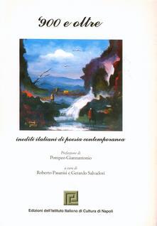 Fondazionesergioperlamusica.it '900 e oltre. Inediti italiani di poesia contemporanea Image