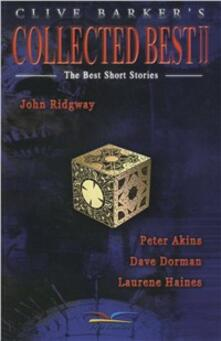 Collected best. The best short stories. Vol. 2 - Clive Barker - copertina