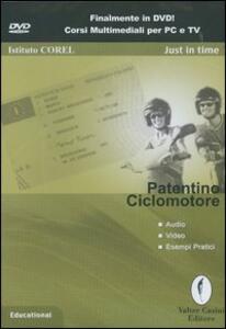 Patentino ciclomotore. DVD-ROM
