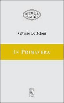 In primavera - Vittorio Betteloni - copertina