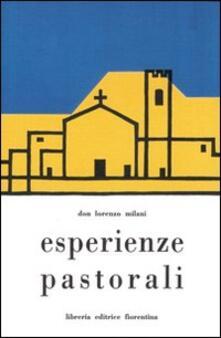 Esperienze pastorali - Lorenzo Milani - copertina
