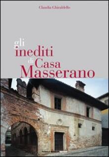 Gli inediti di casa Masserano - Claudia Ghiraldello - copertina